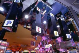 Game Center Ceiling & Display